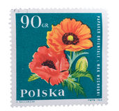 POLAND - CIRCA 1964: a stamp printed in the shows Orienta stock images