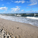 Poland: coast of the baltic sea Stock Image