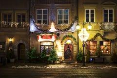 Poland: Cozy restaurant in Warsaw Stock Photo