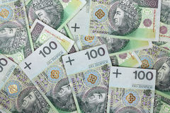 Poland currency Stock Images