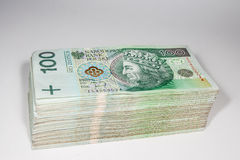 Poland currency zloty - PLN Stock Photos