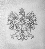 Poland Emblem - eagle with crown Stock Photography