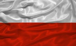 Poland Flag 3 Stock Images