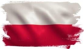 Poland Flag stock illustration