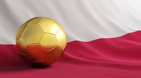Poland football Royalty Free Stock Photos