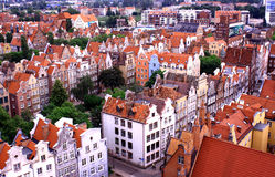 Poland. Gdansk. Gdansk - the ancient and beautiful city in Poland Royalty Free Stock Photos