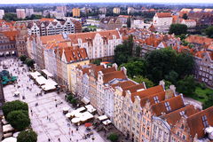 Poland. Gdansk. Gdansk - the ancient and beautiful city in Poland Stock Image