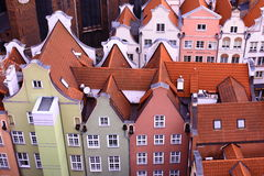 Poland. Gdansk. Gdansk - the ancient and beautiful city in Poland Royalty Free Stock Image