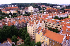 Poland. Gdansk. Gdansk - the ancient and beautiful city in Poland Royalty Free Stock Images