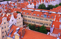 Poland. Gdansk. Gdansk - the ancient and beautiful city in Poland Stock Photos