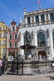 Poland Gdansk. Old buildings summer Royalty Free Stock Photos