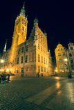 Poland Gdansk Old town-hall Stock Image