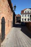Poland - Grudziadz. Grudziadz in Pomerania region of Poland. Old town Stock Photography