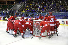 Poland ice-hockey team Stock Photography
