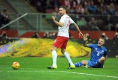 Poland - Iceland Friendly Game Stock Photos