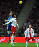 Poland - Iceland Friendly Game Royalty Free Stock Photography