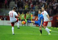Poland - Iceland Friendly Game Royalty Free Stock Photos