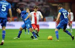 Poland - Iceland Friendly Game Royalty Free Stock Photo