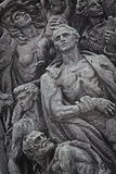 Poland: Jewish ghetto uprising monument Royalty Free Stock Photos