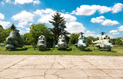POLAND - JUL,  2015:  Exhibition plane in the Stock Photography