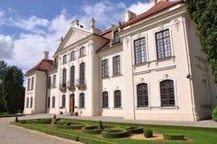 Poland Kozlowka palace with garden Royalty Free Stock Images