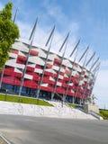 poland krajowy stadium Warsaw fotografia royalty free