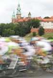 Poland, Krakow, bike race Stock Photography