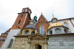 Poland, krakow, castle Stock Image