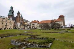 Poland, krakow, castle Stock Photos