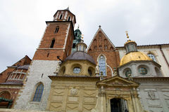 Poland, krakow, castle Royalty Free Stock Photos