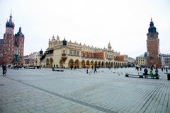 Poland, krakow Royalty Free Stock Images