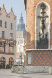 Poland, Krakow, Plac Mariacki Square Stock Photo