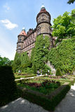 Poland, Ksiaz Castle stock image