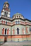 Poland - Lodz. Lodz, Poland - Alexander Nevsky Orthodox cathedral. Architecture in Lodzkie province Royalty Free Stock Image
