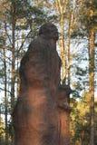 Poland, Lubelskie, Memorial at Former Sobibór Nazi Exterminatio Royalty Free Stock Image