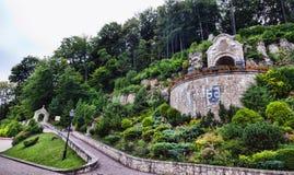 Poland - monastery in Czerna. Poland - monastery of Discalced Carmelites in Czerna. Old abbey Royalty Free Stock Photo
