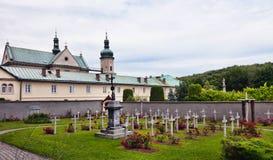 Poland - monastery in Czerna. Poland - monastery of Discalced Carmelites in Czerna. Old abbey Stock Photography