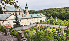 Poland - monastery in Czerna. Poland - monastery of Discalced Carmelites in Czerna. Old abbey Stock Images