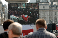 Poland mourns.. Stock Image
