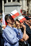 Poland mourns. Stock Photography