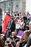 Poland mourns. stock image