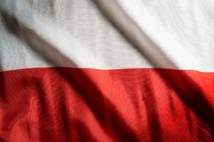 Poland national flag,background. And backdrop Royalty Free Stock Photos