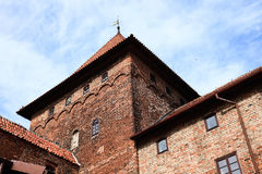 Poland old castle Nidzica Royalty Free Stock Images