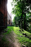 Poland old castle Nidzica Royalty Free Stock Photography