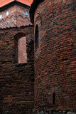 Poland old castle Nidzica Royalty Free Stock Photography