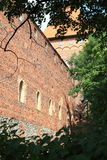 Poland old castle Nidzica Stock Photos