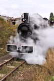 Poland old steam train Royalty Free Stock Photography