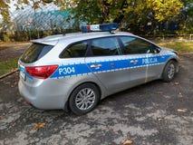 Poland Police Royalty Free Stock Photography