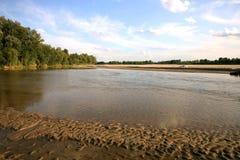 poland rzeka Vistula zdjęcie stock