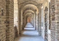 poland s för slott för bishopslottkielce tunnel royaltyfri bild
